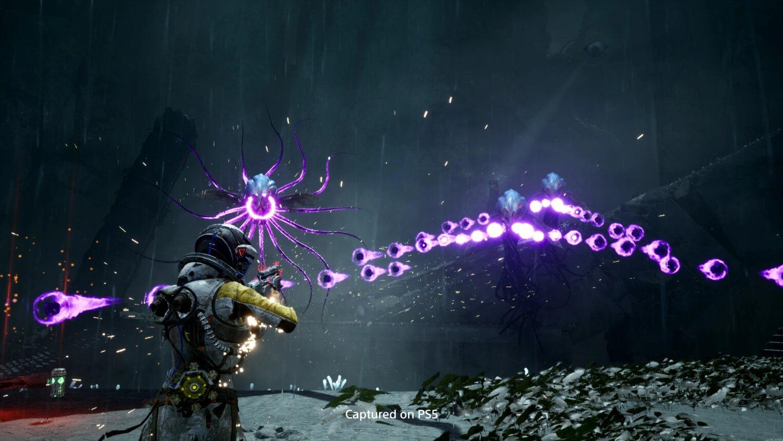 ¡Disparos y más disparos! Returnal muestra un nuevo gameplay en Future Games Show