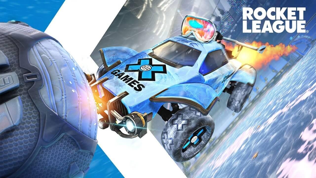 Rocket League añade nuevos objetos en colaboración con los ESPN X Games