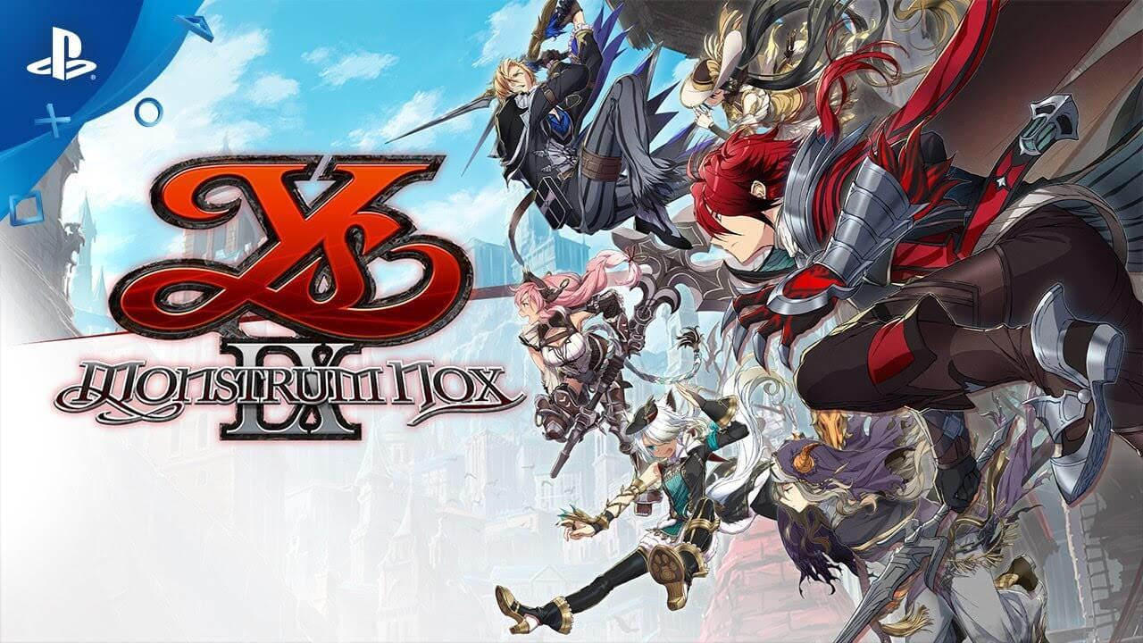Ya está disponible la demo del RPG Ys IX: Monstrum Nox en la PS Store
