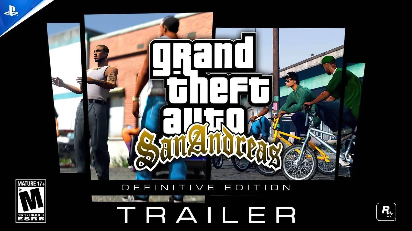 Aficionado crea un vídeo que muestra cómo sería GTA San Andreas en PS5