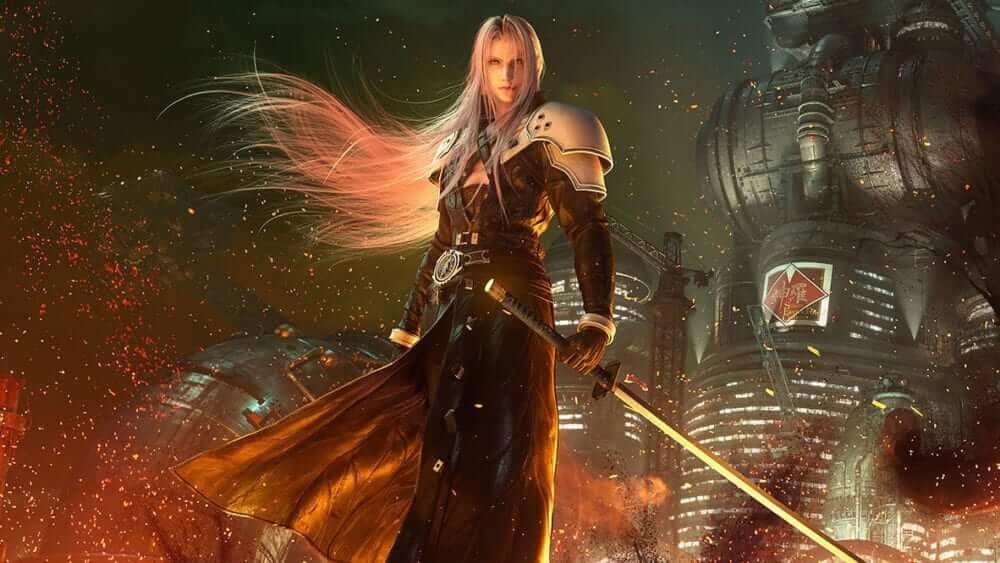 Portada Final Fantasy VII marcas