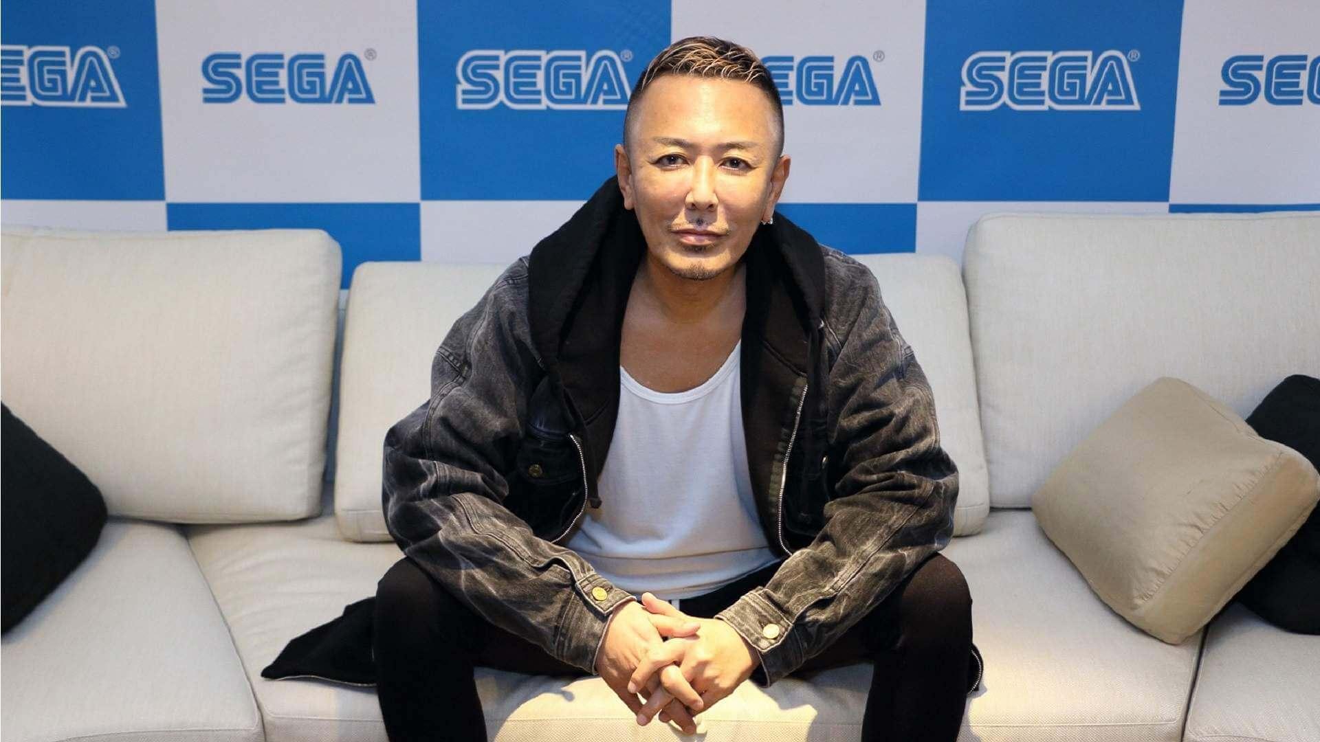 Portada Toshihiro Nagoshi SEGA