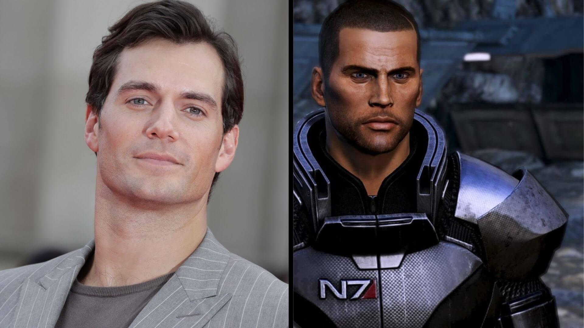 Henry Cavill deja caer que trabaja en un nuevo proyecto de Mass Effect