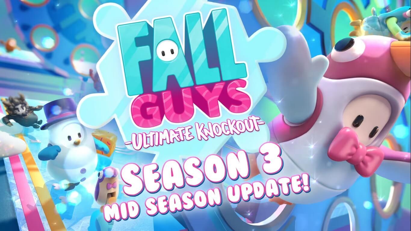Fall Guys añade nuevo contenido para la temática helada de su temporada 3.5