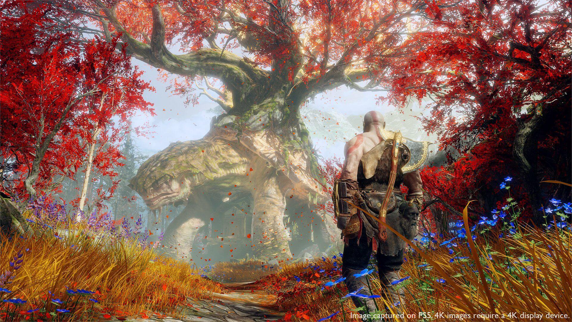 A partir de mañana podrás jugar God of War a 60 FPS en tu PS5