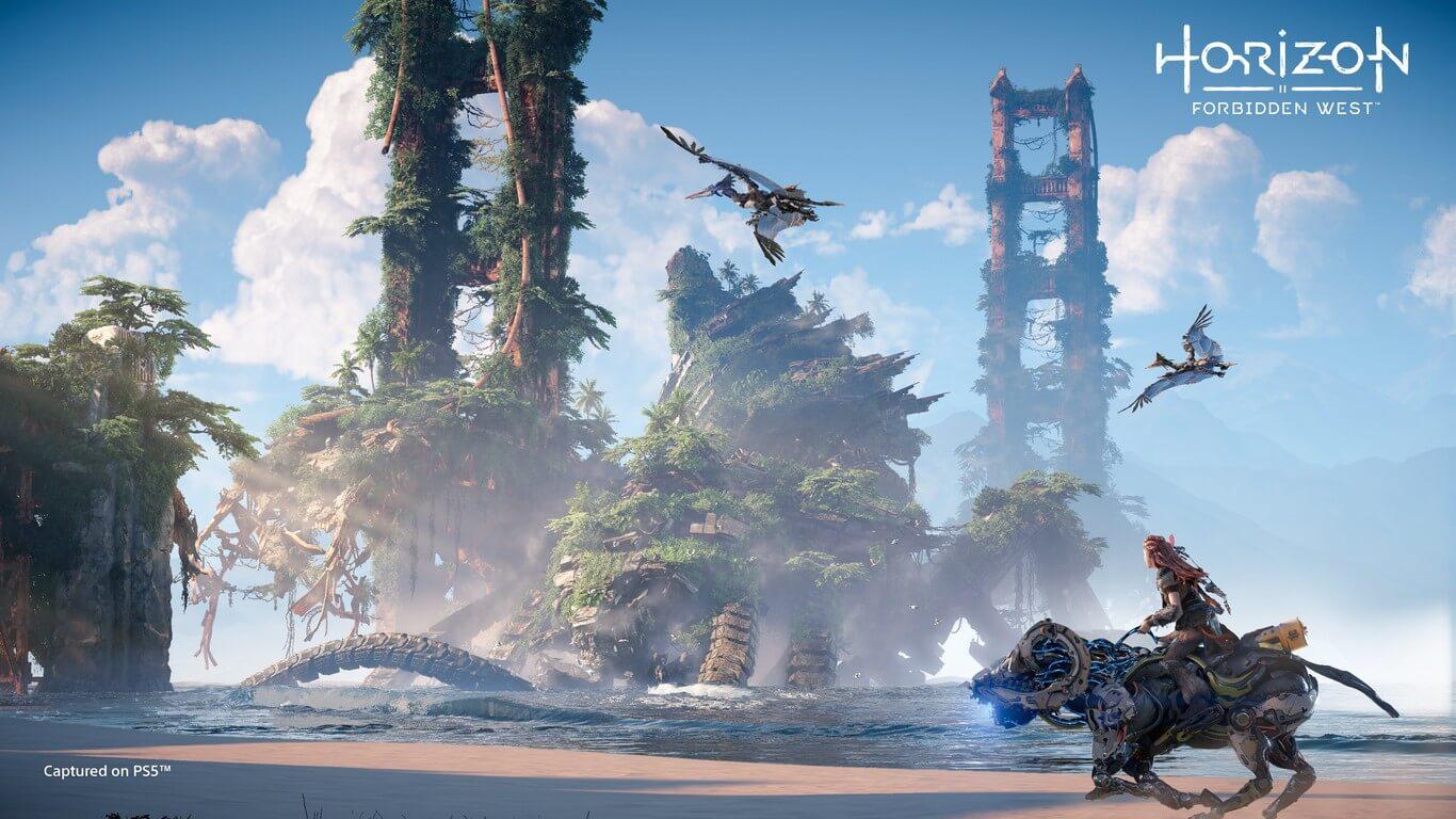 Horizon Forbidden West mantiene su lanzamiento en 2021