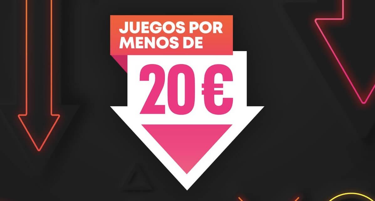 La promoción Juegos por menos de 20€ aterriza en la PS Store
