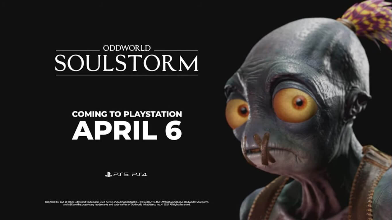 Oddworld Soulstorm se estrenará este 6 de abril en PS Plus