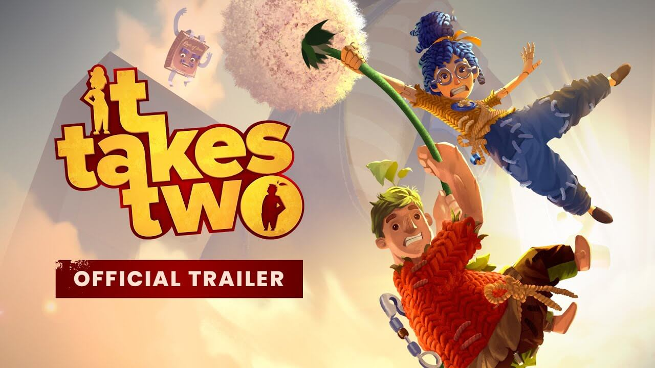 It Takes Two presume de variedad en su último tráiler