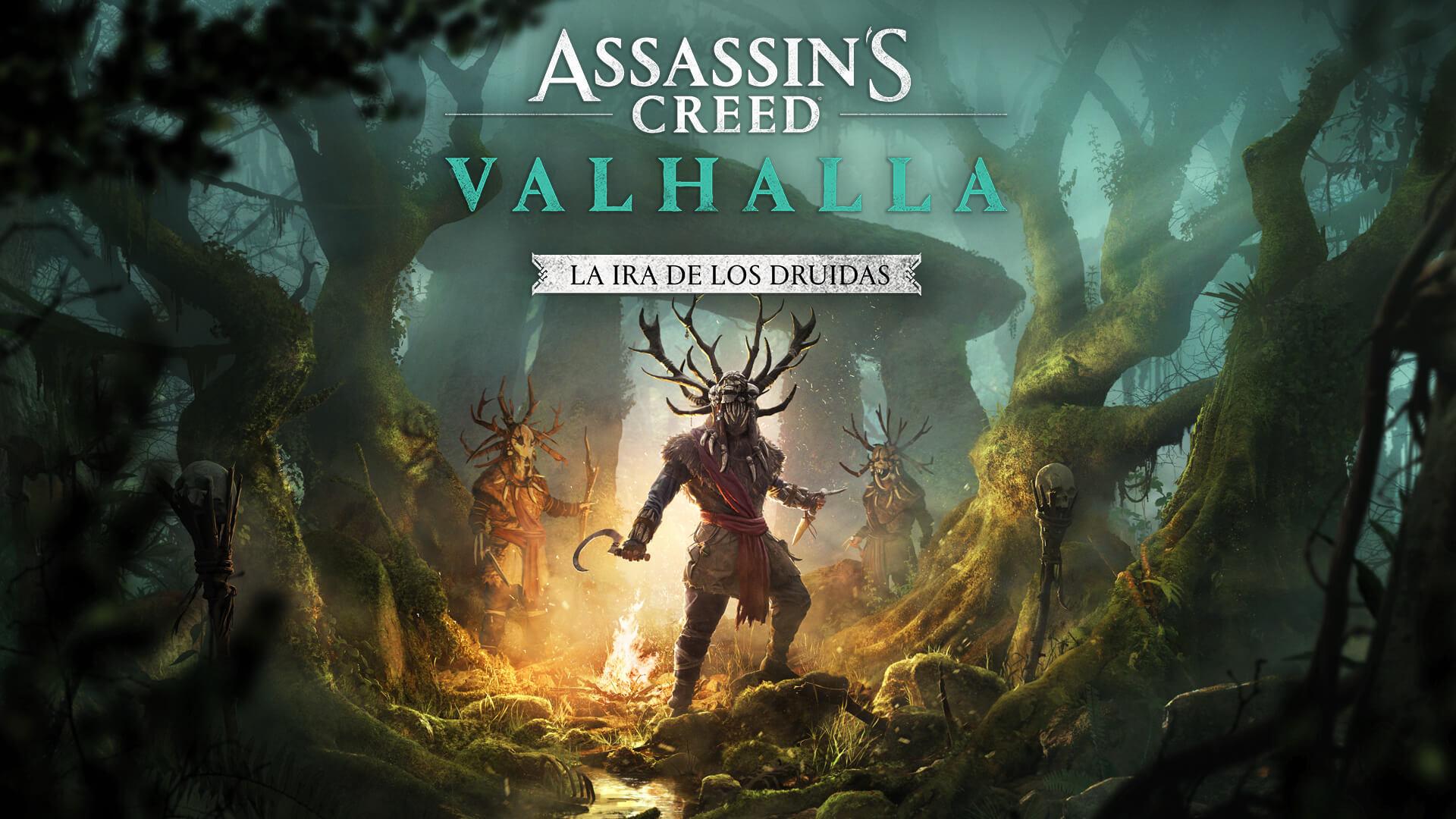 """Assassin's Creed Valhalla recibirá la expansión """"La Ira de los Druidas"""" en abril"""