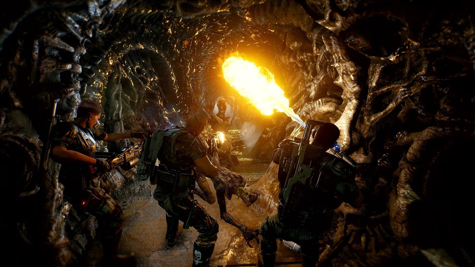 El shooter cooperativo Aliens: Fireteam Elite ya está disponible en PS5 y PS4