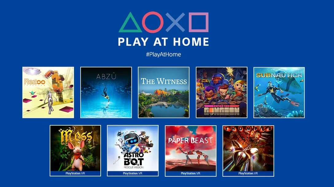 PlayStation regala 10 juegos más con Play at Home: Subnautica, Abzú, Enter the Gungeon y más