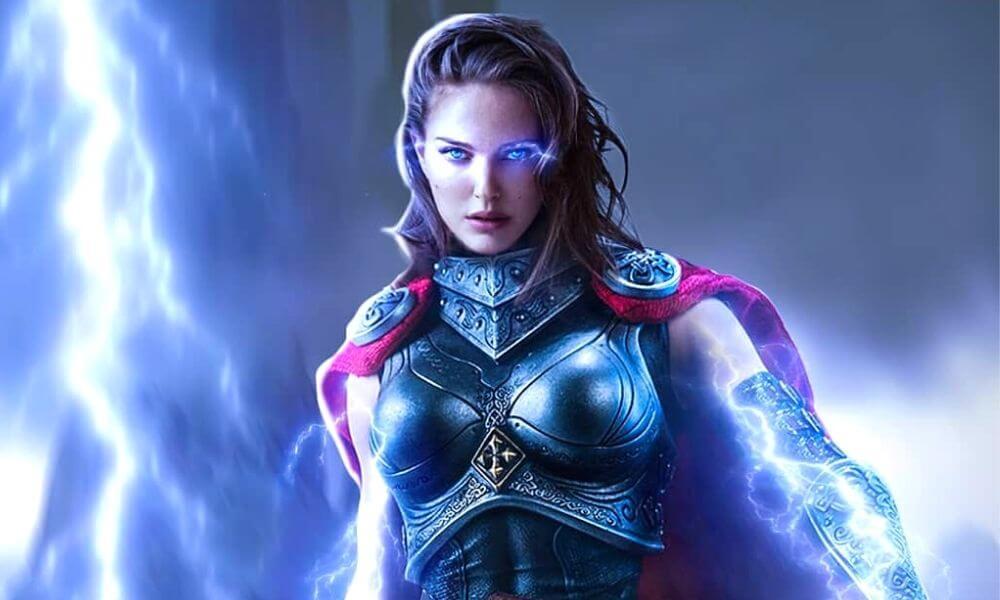 Natalie Portman sorprende con su cambio físico para Thor: Love and Thunder