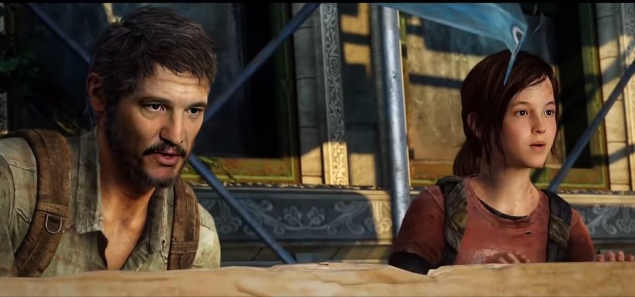 The Last of Us: Así se ven Pedro Pascal y Bella Ramsey como Joel y Ellie dentro del juego