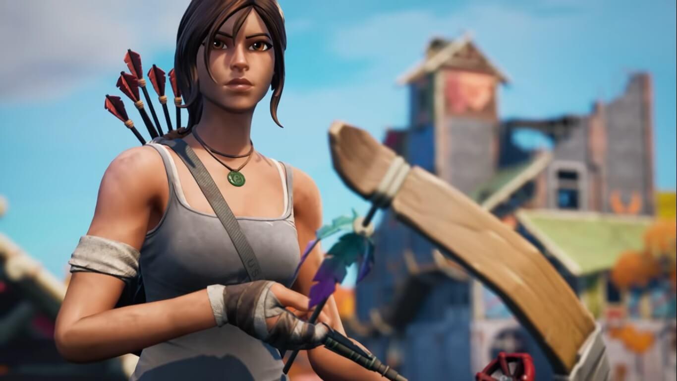 Lara Croft (Tomb Raider) llegará a Fortnite en su Temporada 6