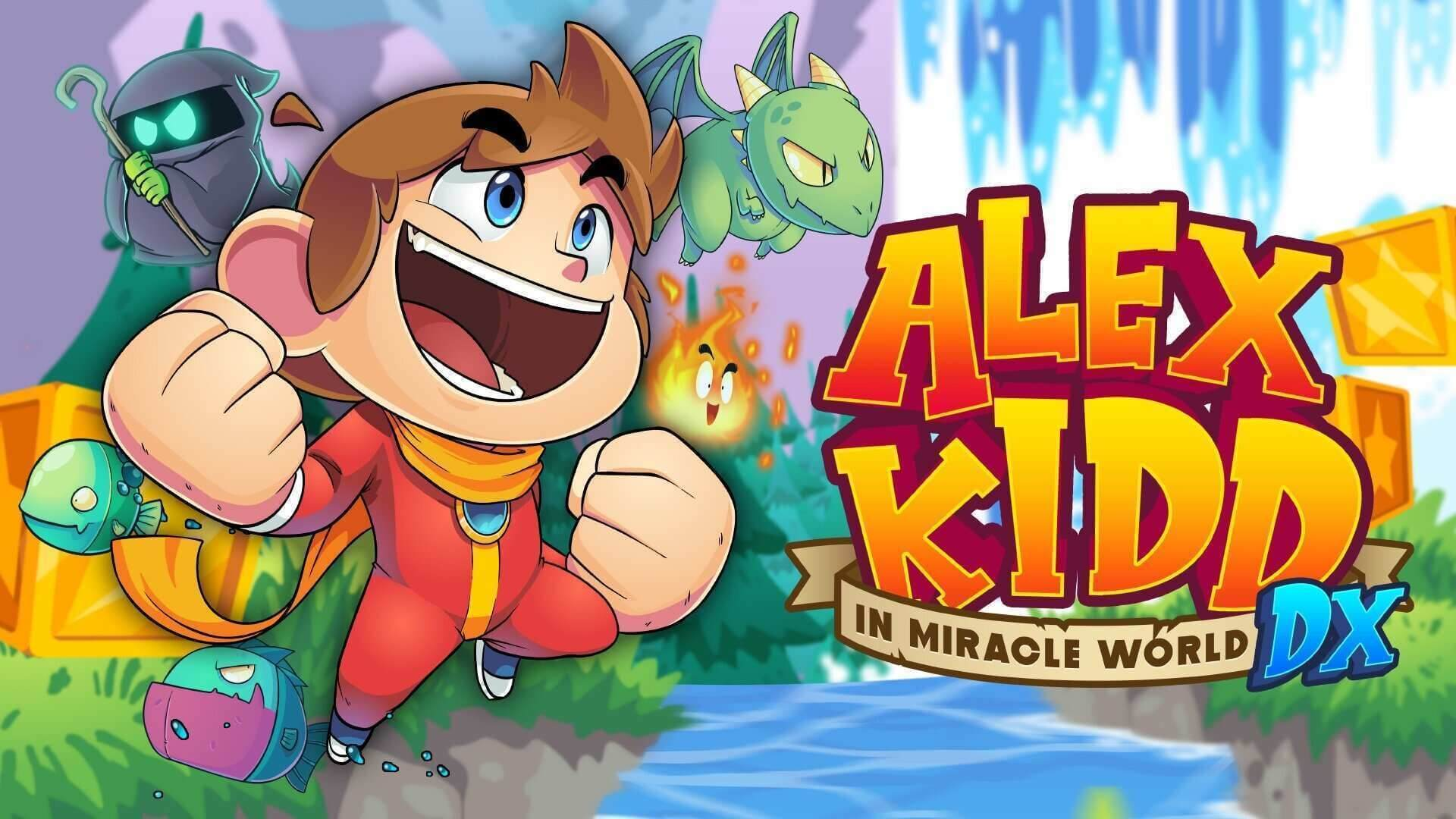 El remake Alex Kidd in Miracle World DX llegará a PS5 y PS4 en junio