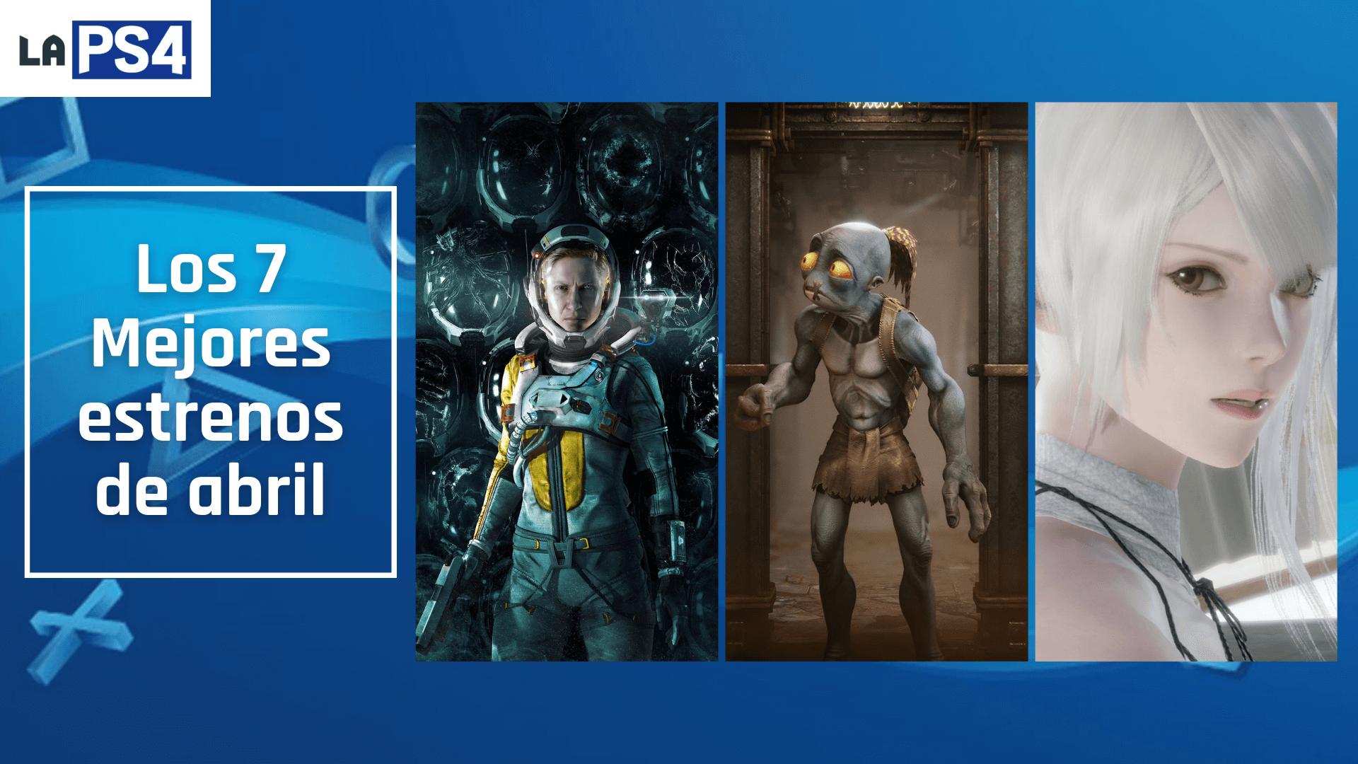 Los 7 mejores lanzamientos de abril en PS5 y PS4