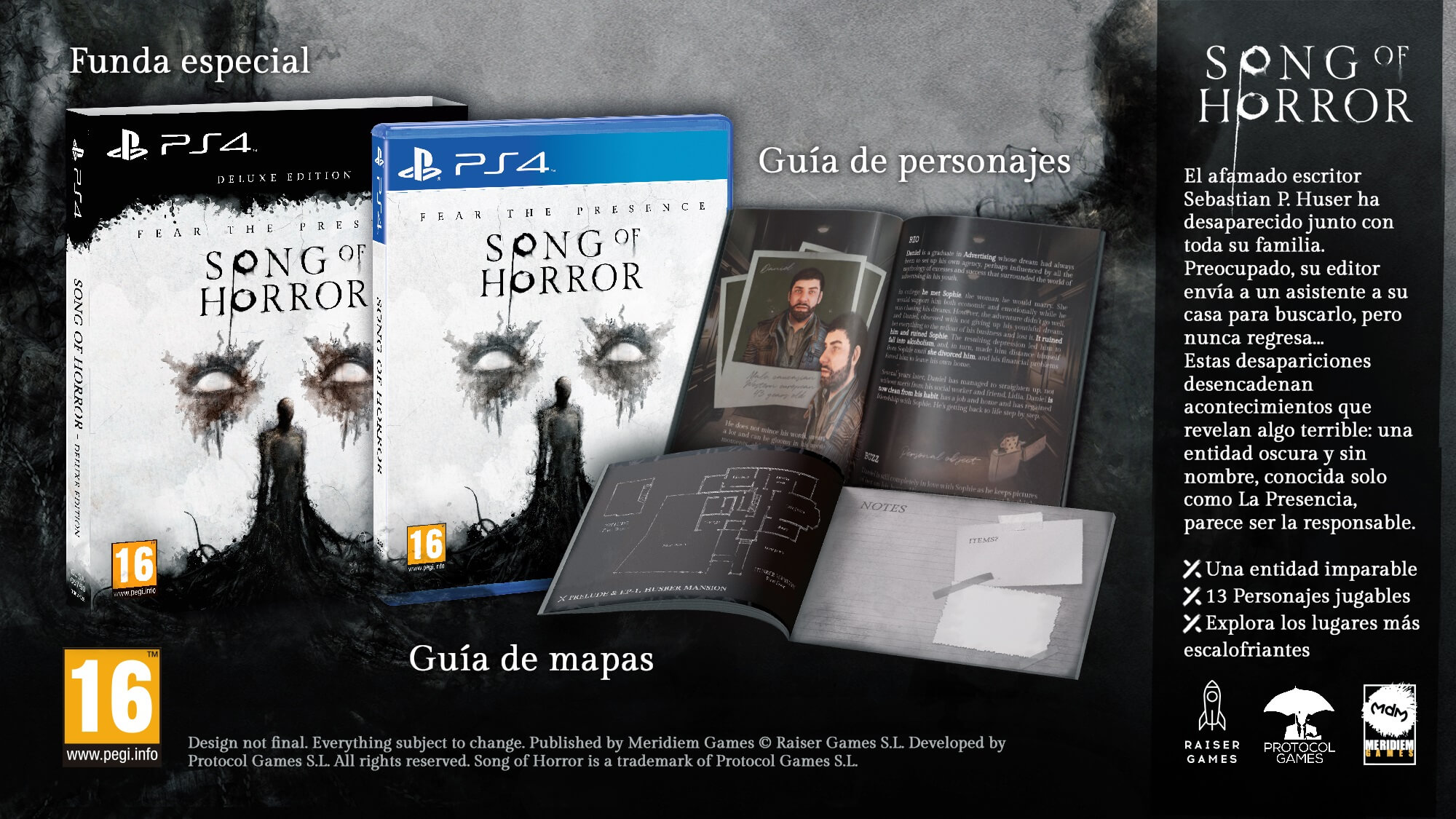 Song of Horror llegará a PS4 con una espectacular edición Deluxe