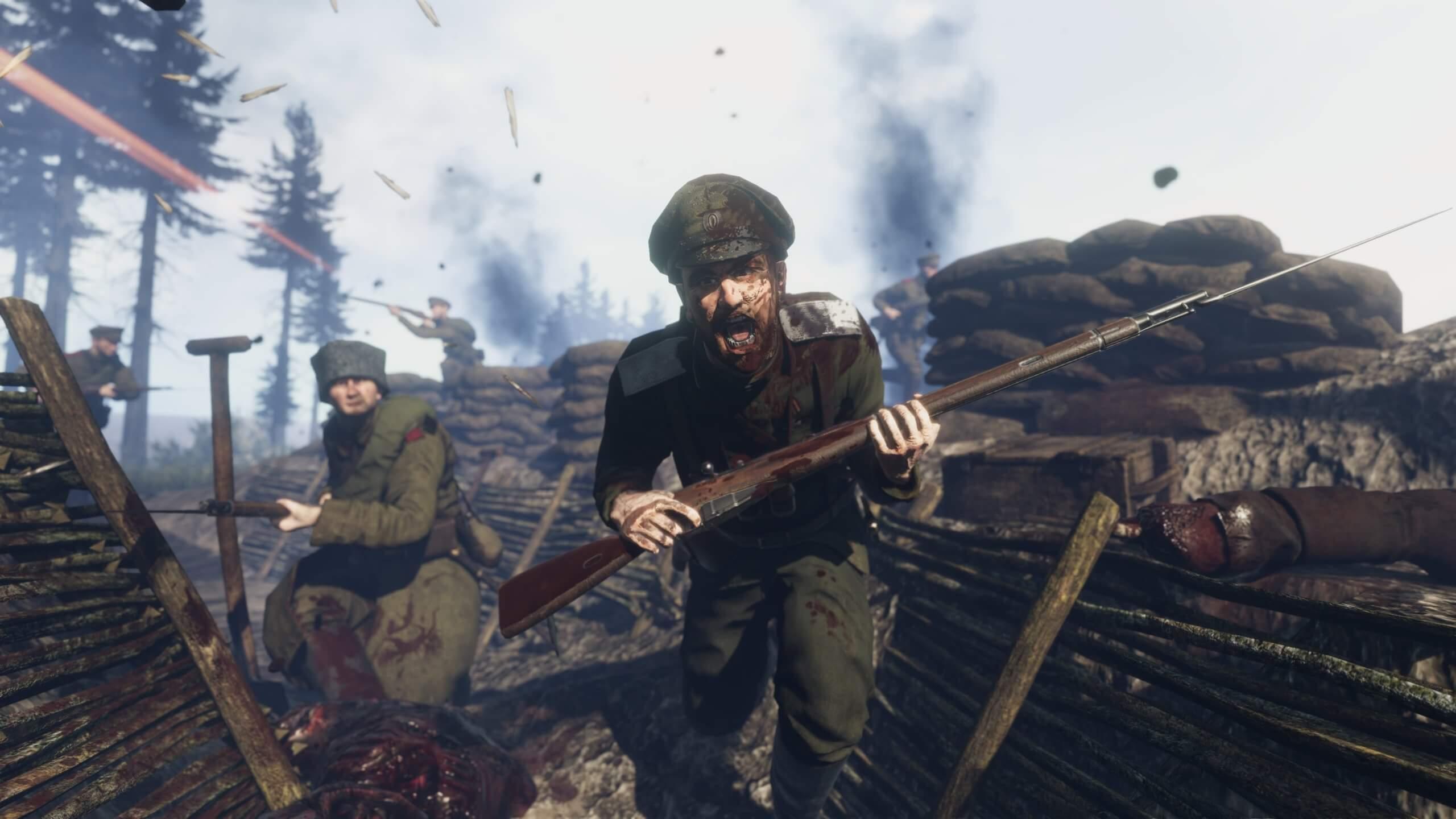 Las ediciones físicas de WWI Tannenberg Easter Front y WWI Verdun Western Front llegarán a PS4 este mes