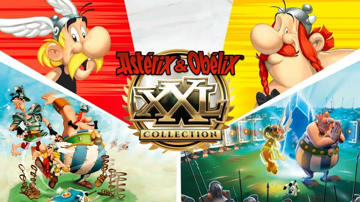 Astérix y Obélix XXL: Collection llegará en físico a PS4 este 25 de mayo