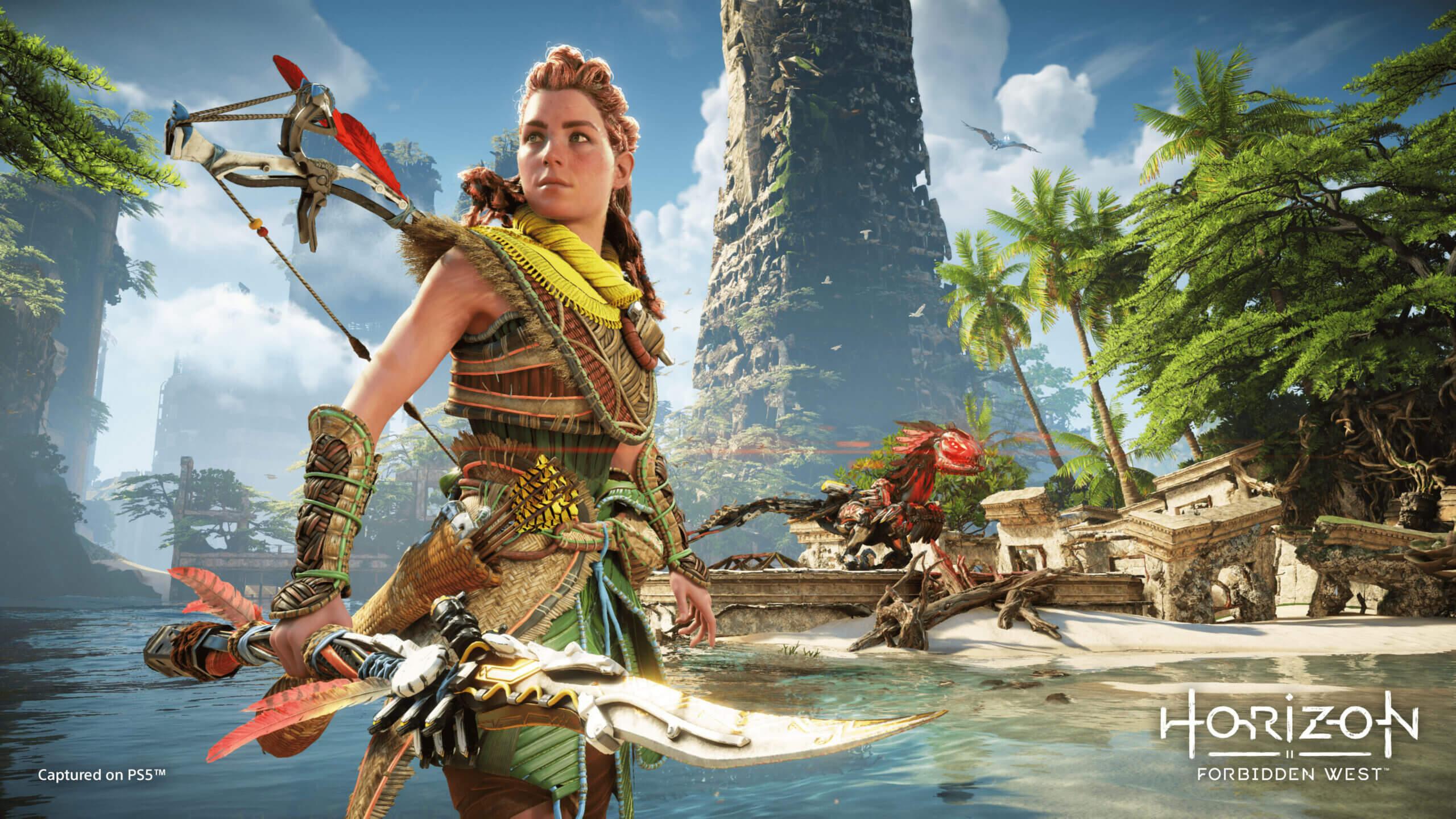 Horizon Forbidden West confirma que saldrá también en PS4