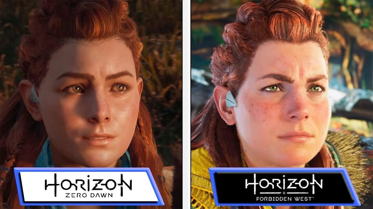 ¿Qué tanto mejoró visualmente Horizon Forbidden West a Zero Dawn? Aquí te dejamos una comparativa