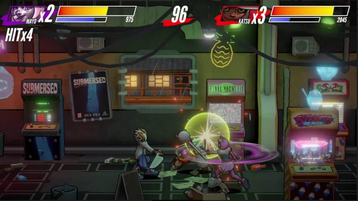 El beat em' up español Itadaki Smash ya está disponible en PS4