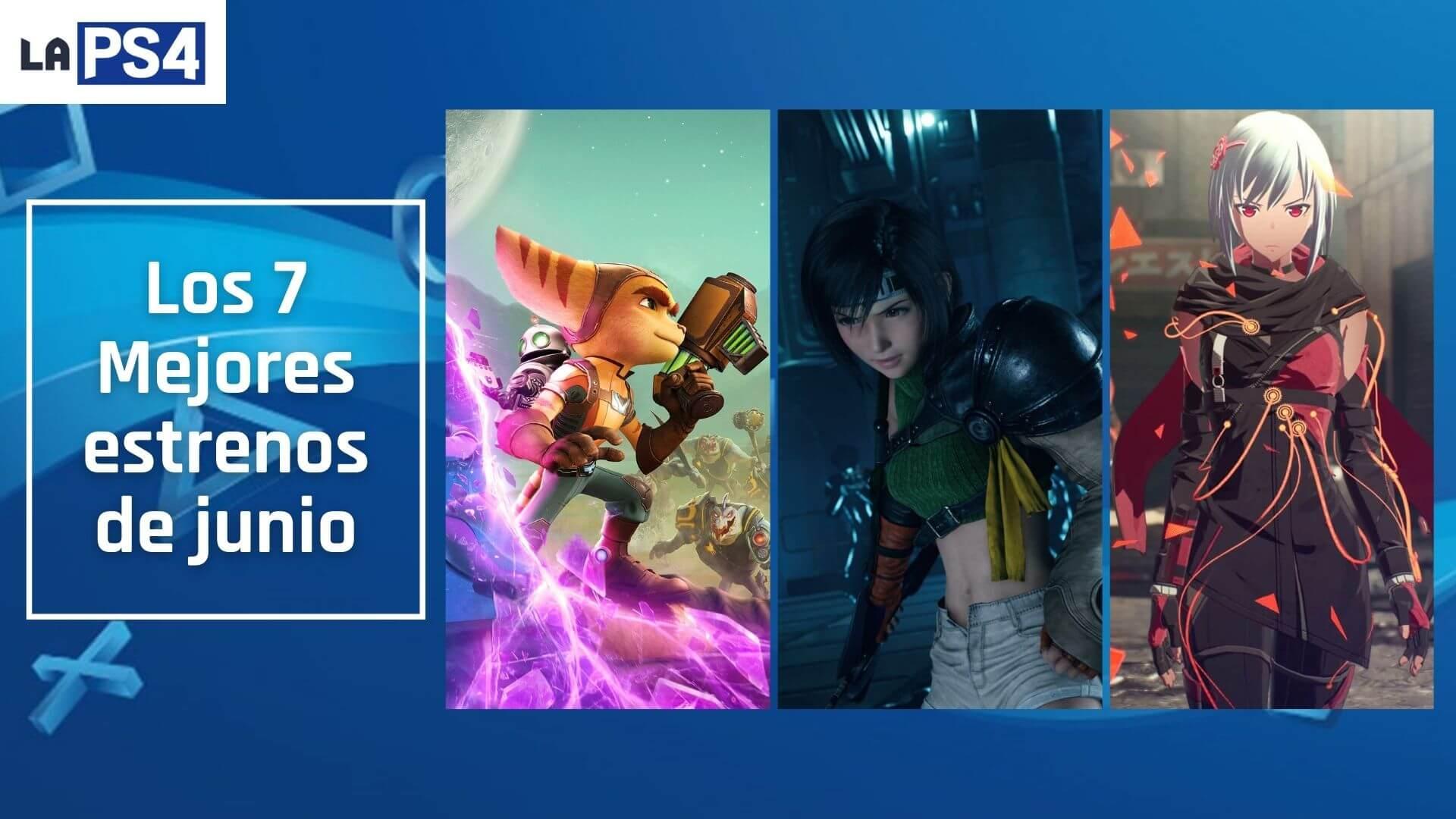 Los mejores 7 lanzamientos de junio en PlayStation