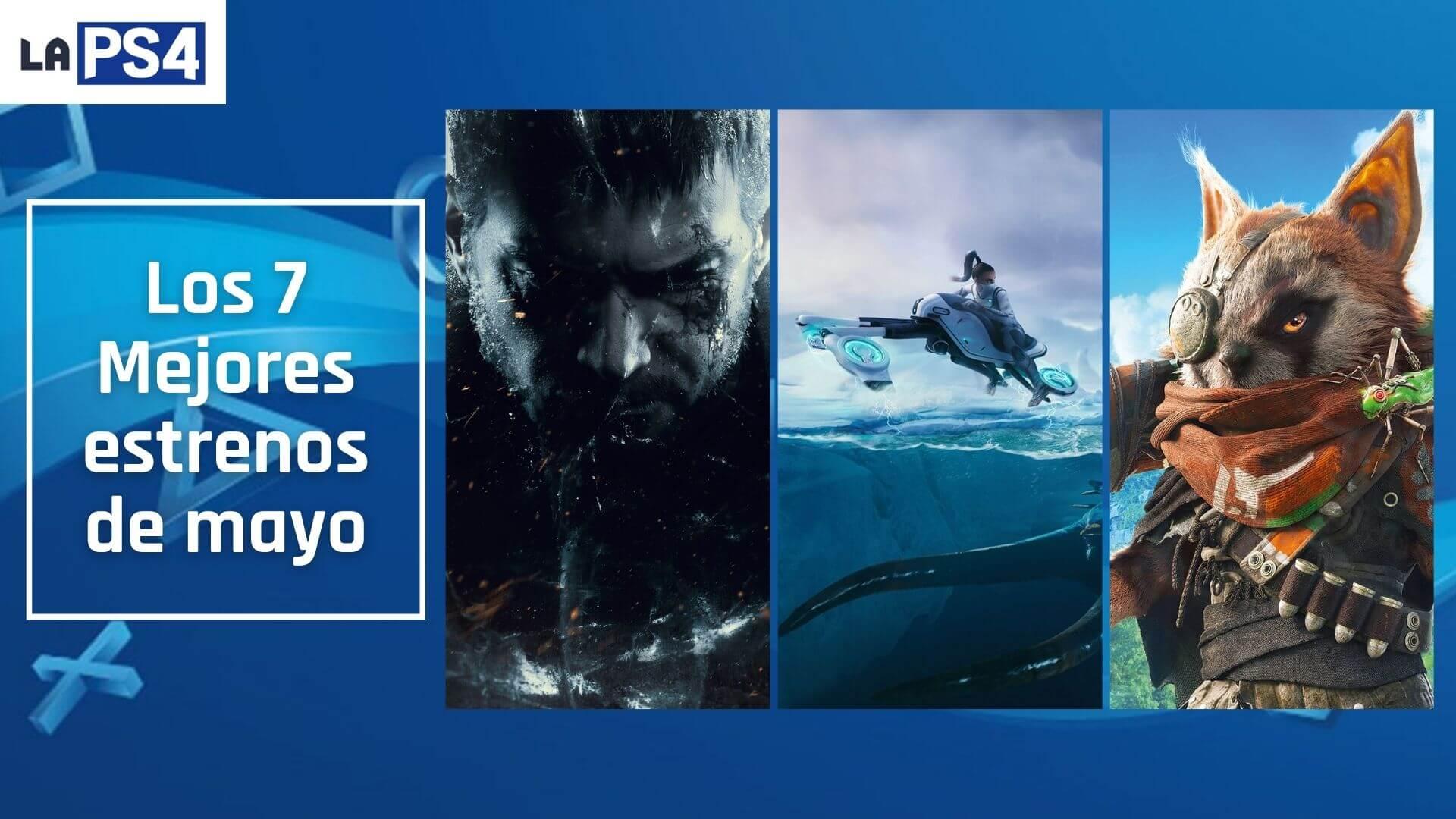 Los mejores 7 lanzamientos de mayo en PlayStation