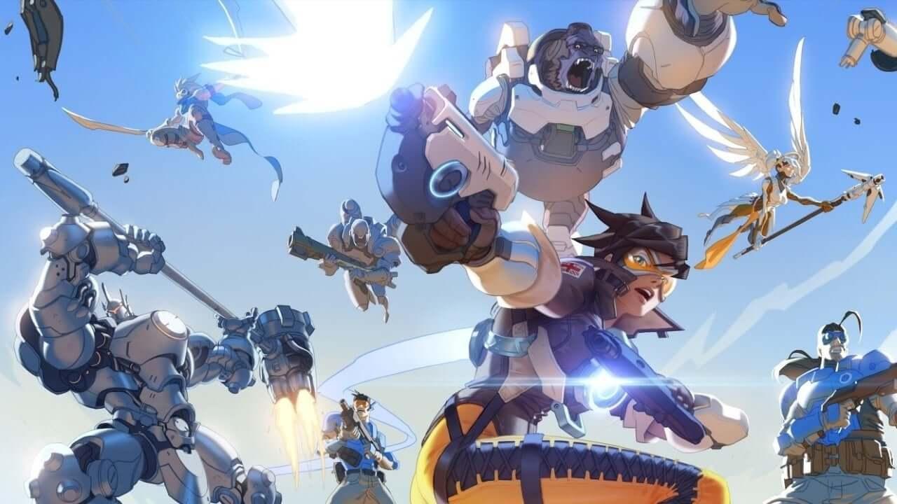 Overwatch 2 revela sus primeros gameplays y reduce sus equipos a 5 jugadores