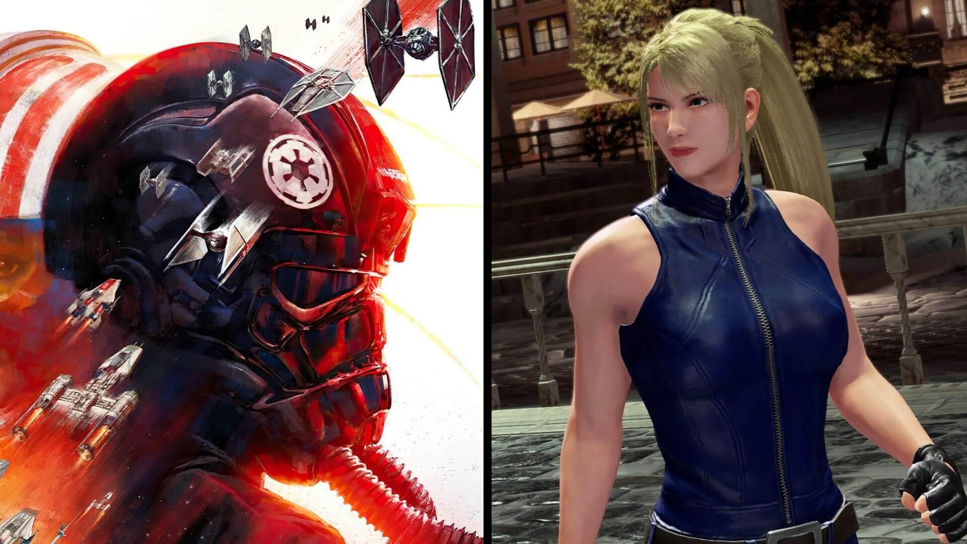 Star Wars: Squadrons y Virtua Fighter 5: Ultimate Showdown apuntan a ser los juegos gratis de PS Plus en junio