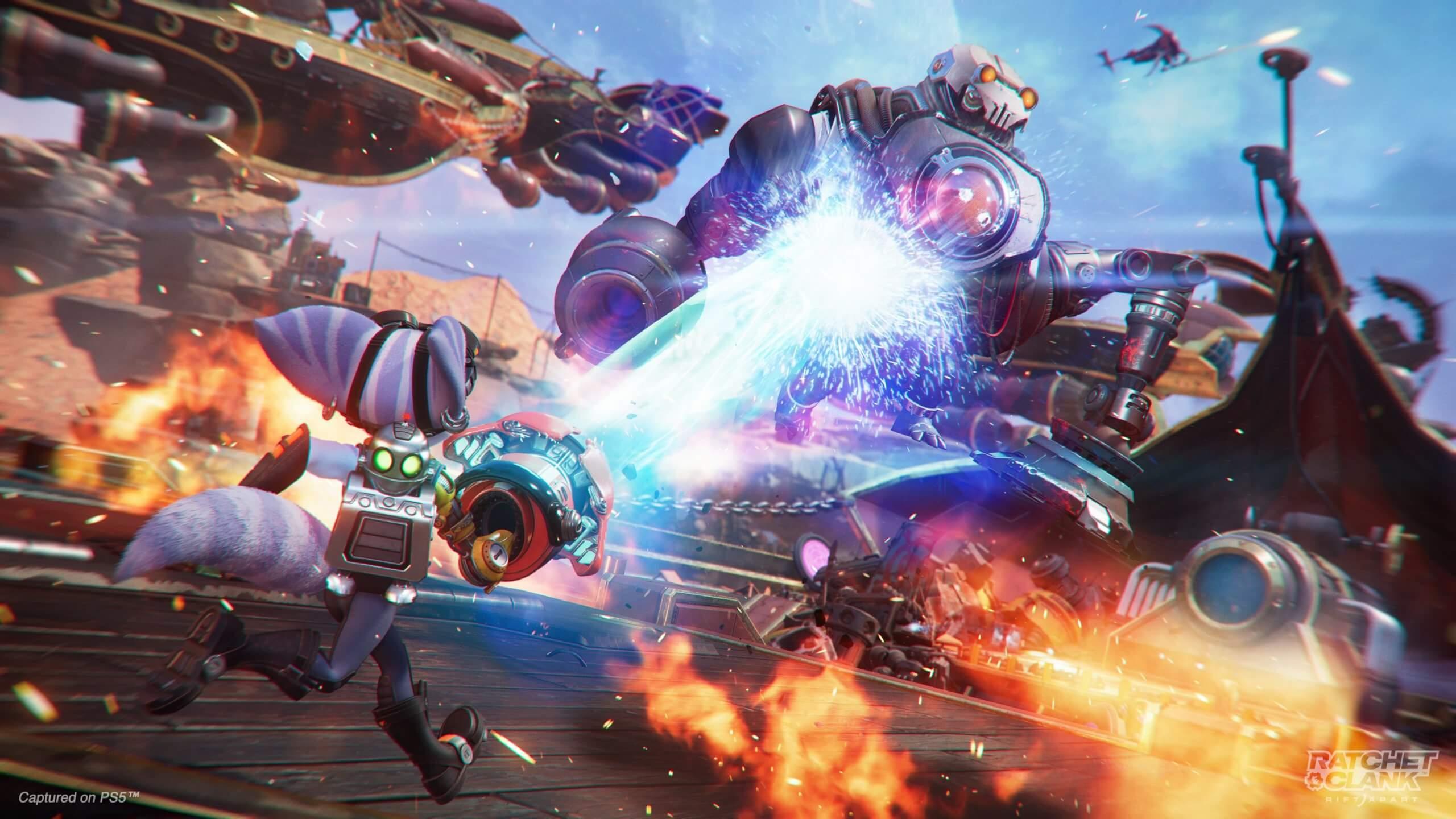 Ratchet & Clank: Rift Apart | Las armas dispararán diferente por la intensidad con la que aprietes el gatillo