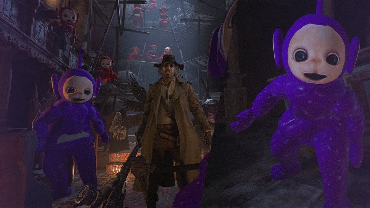 Los Teletubbies llegan a Resident Evil Village gracias a este mod