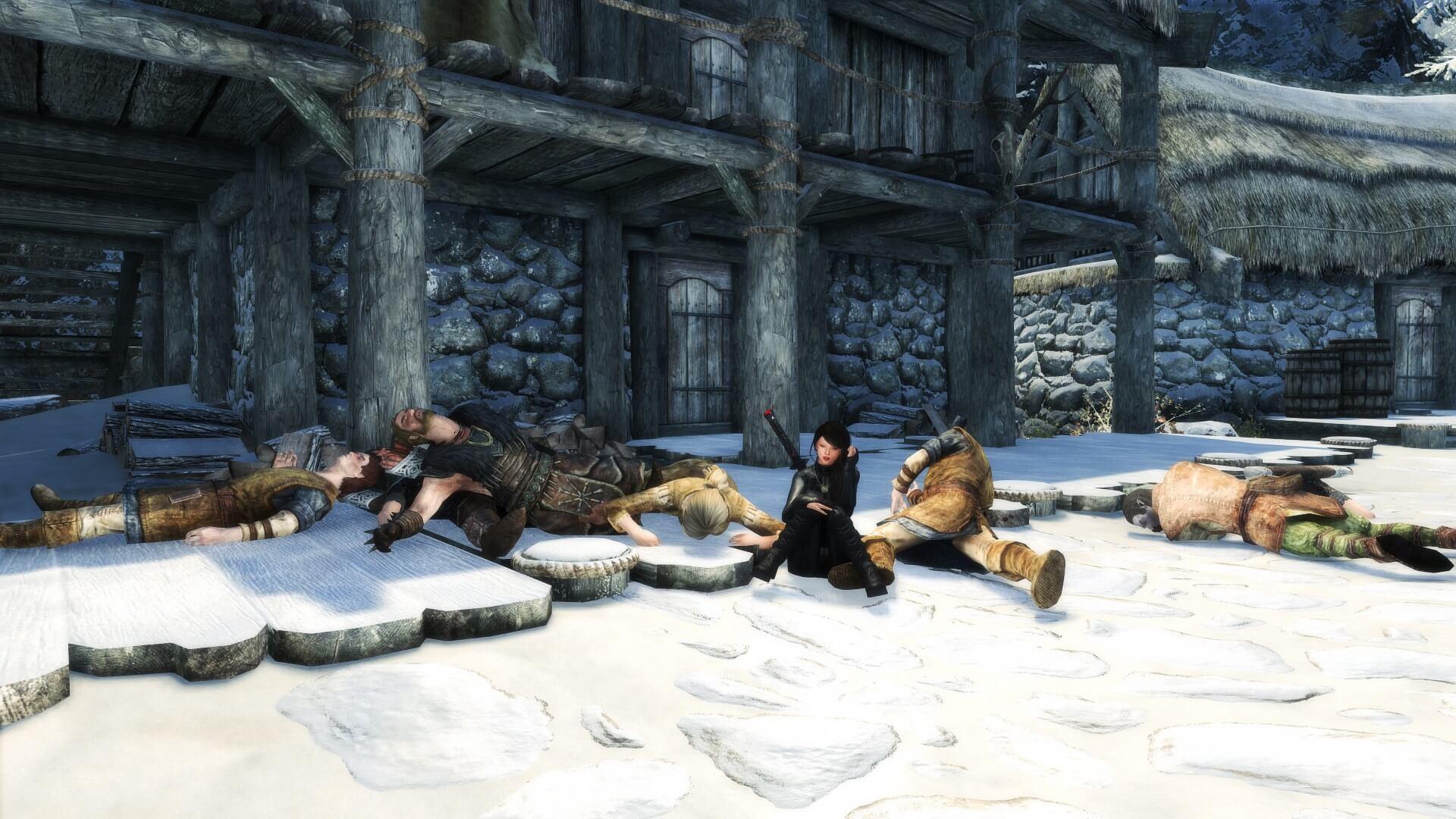 ¿Skyrim sin ningún NPC ni criaturas? Este jugador logró matarlos a todos