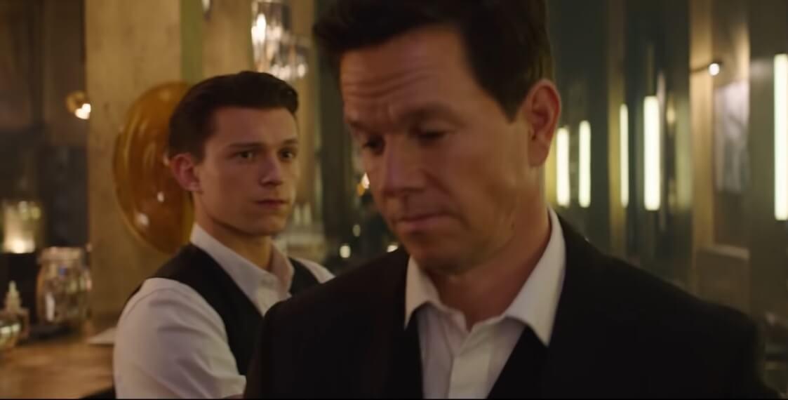 La película de Uncharted se muestra por unos segundos en un nuevo vídeo