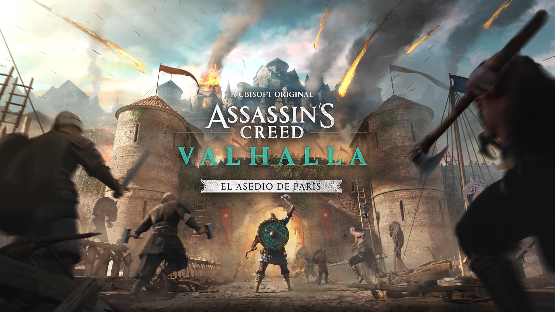 Assassin's Creed Valhalla presenta su nuevo DLC: El Asedio de París