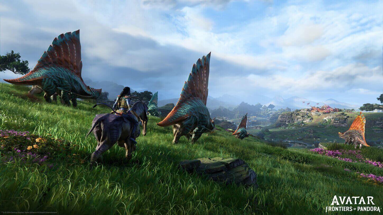 Avatar: Frontiers of Pandora   Las criaturas actuarán diferente según el clima, la hora del día o la progresión del jugador