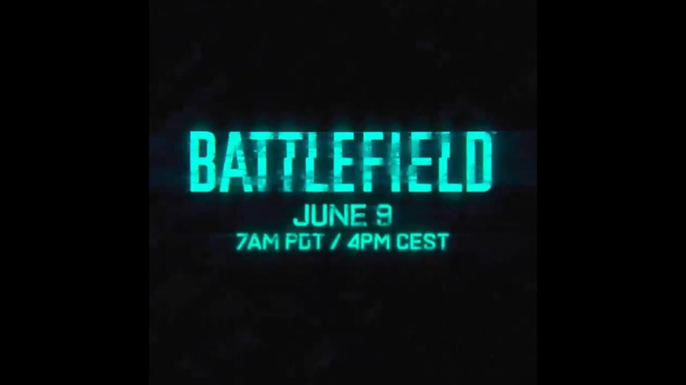 El nuevo Battlefield será revelado este 9 de junio