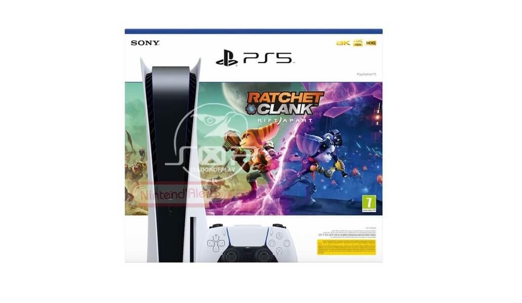 Se filtra un bundle de PS5 de Ratchet & Clank: Rift Apart