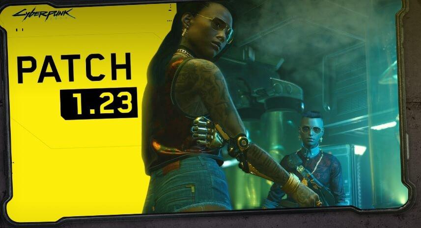 Cyberpunk 2077 recibe su parche 1.23 antes de regresar a PS Store