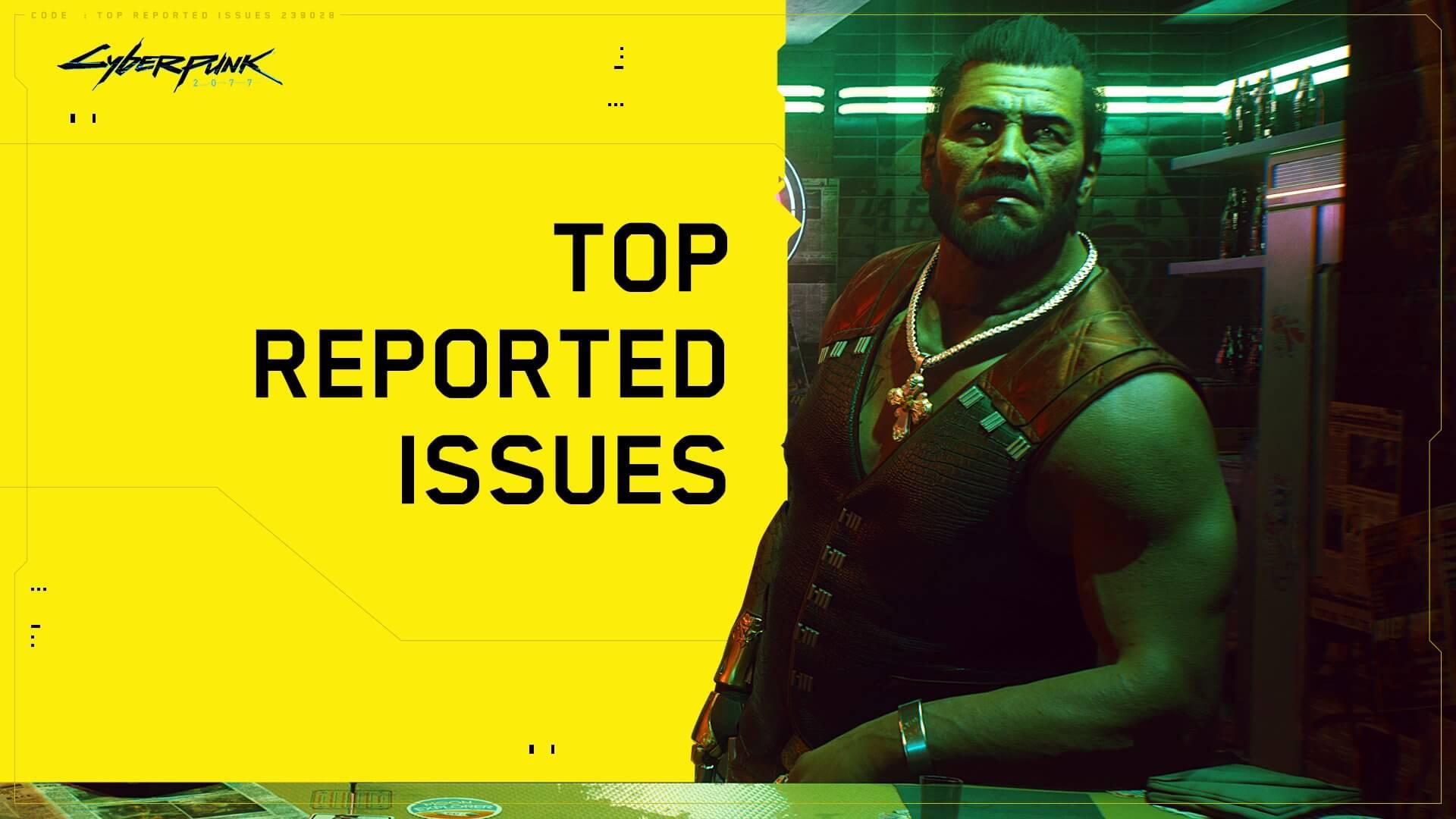 Cyberpunk 2077 muestra su lista de errores más frecuentes en PS4 y PS5