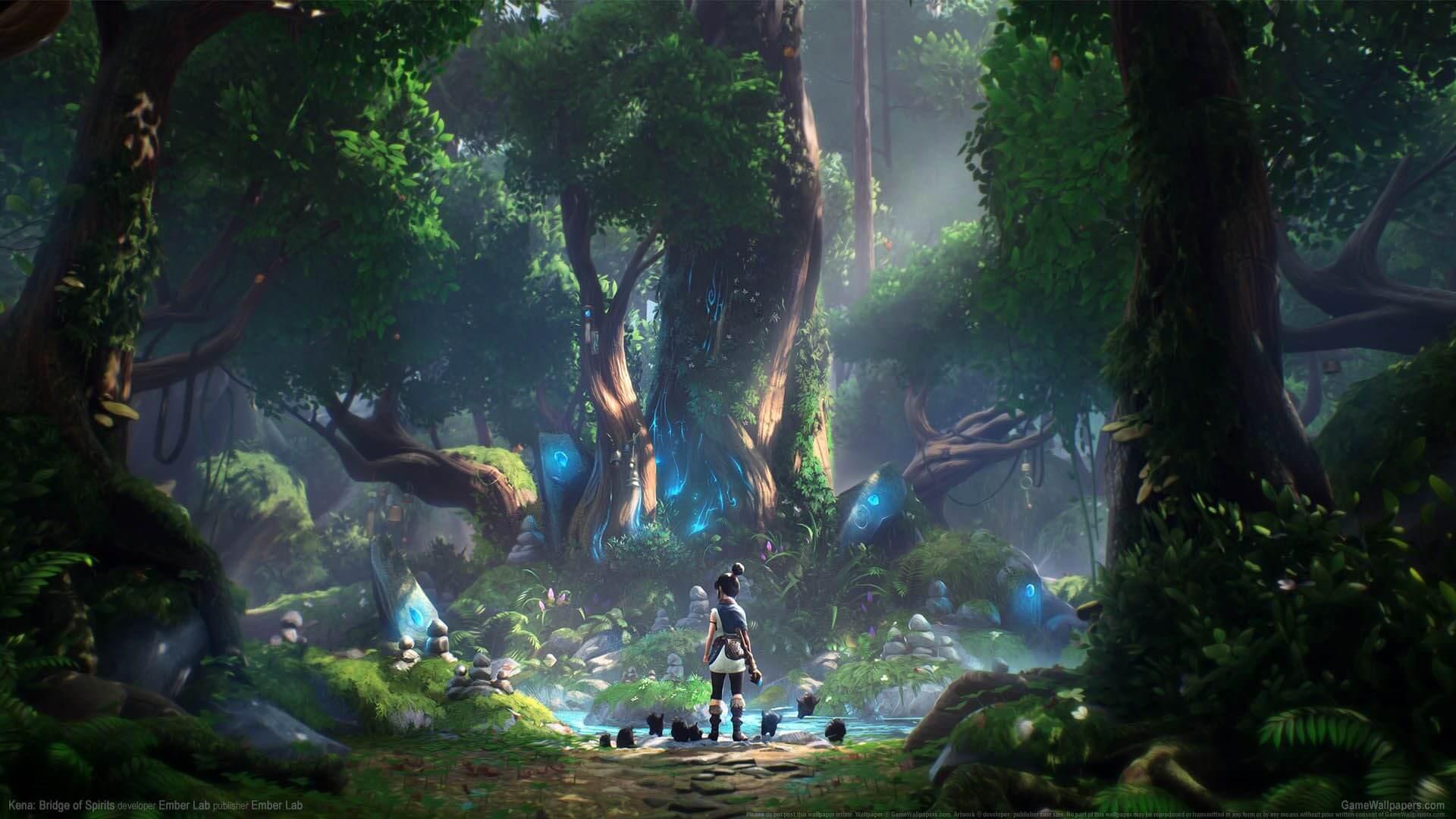 Kena: Bridge of Spirits muestra su exploración en un nuevo gameplay
