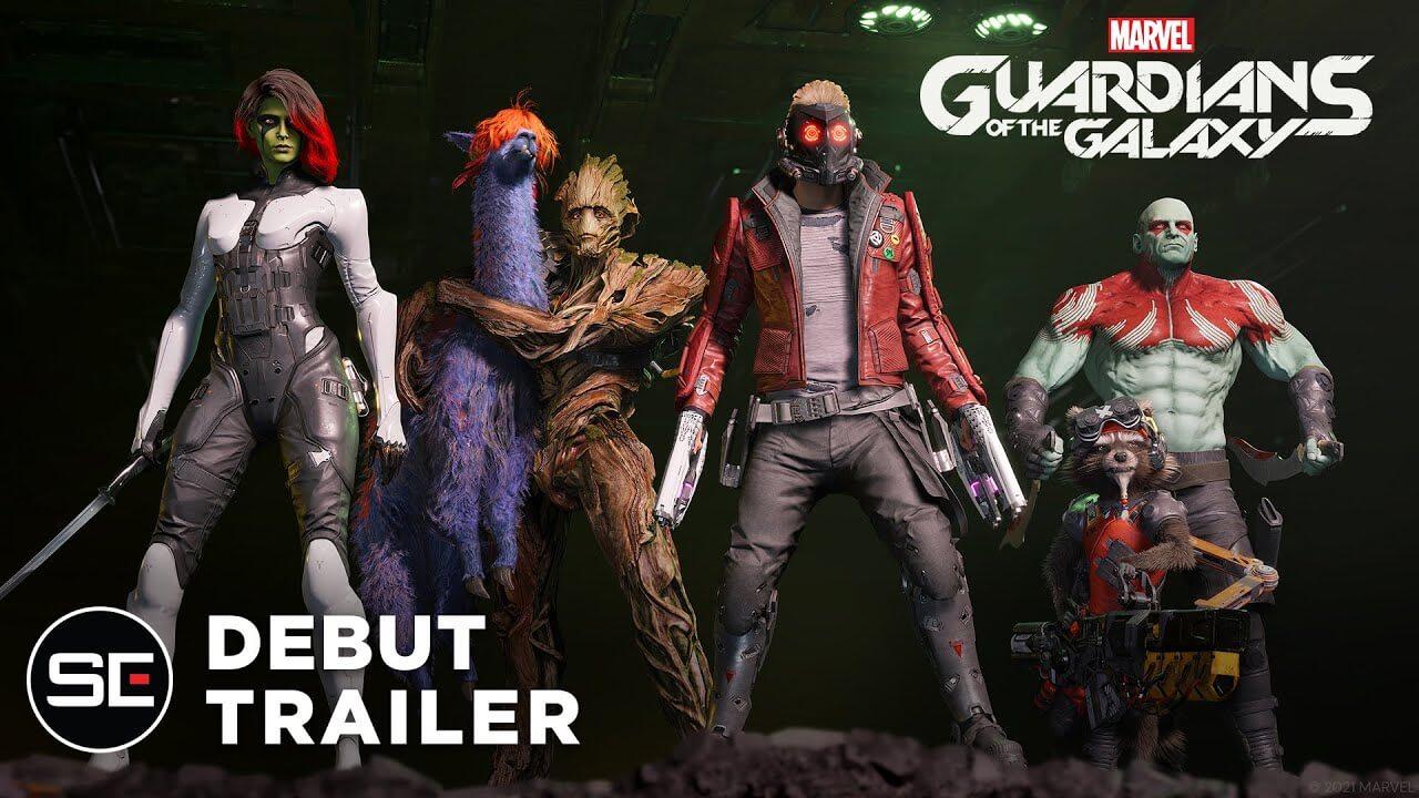 Marvel's Guardians of the Galaxy ha sido anunciado; llegará en octubre