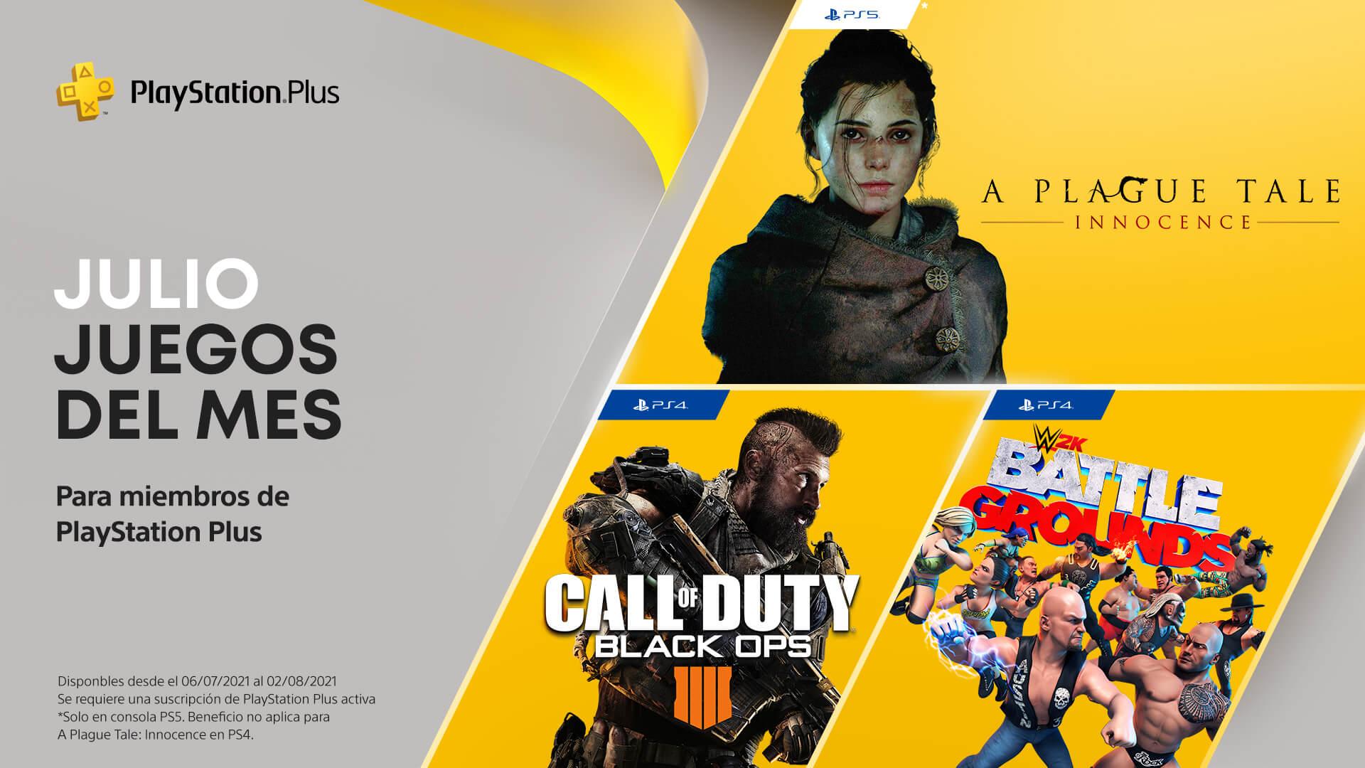 A Plague Tale: Innocence encabeza los juegos gratis de PS Plus en julio