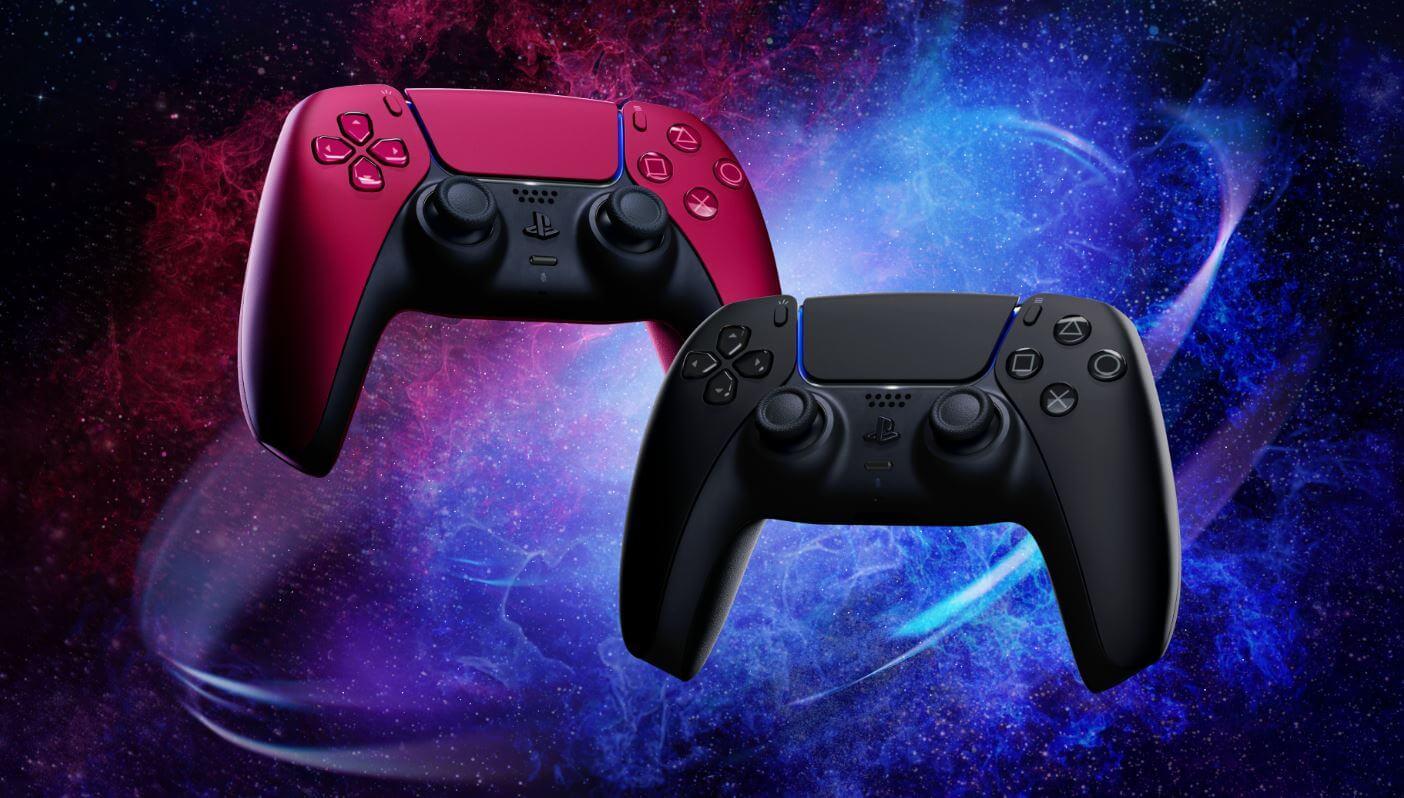 Los DualSense Midnight Black y Cosmic Red ya están a la venta en tiendas