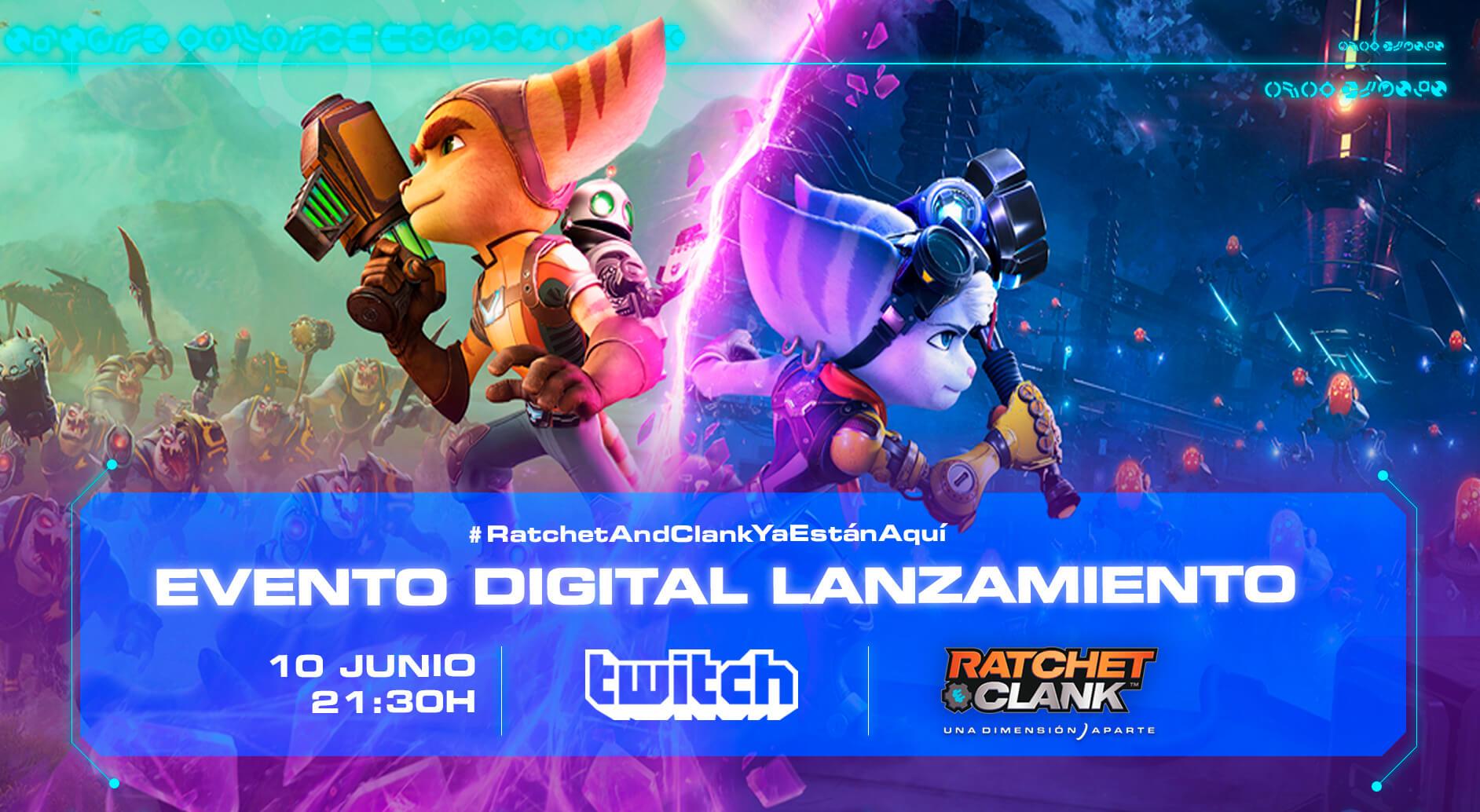PlayStation España celebrará el estreno de Ratchet & Clank: Rift Apart con un evento este jueves