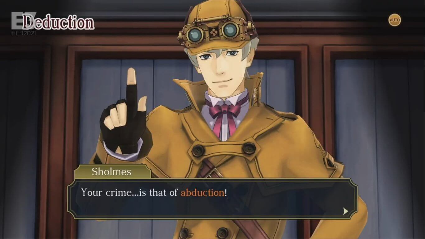 The Great Ace Attorney Chronicles muestra un nuevo gameplay con Herlock Sholmes