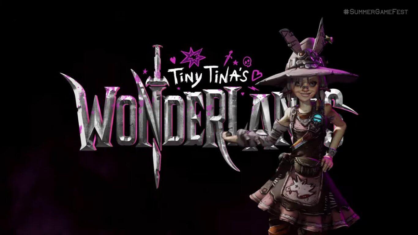 Tiny Tina's Wonderlands, spin-off de Borderlands, fue anunciado oficialmente en Summer Game Fest