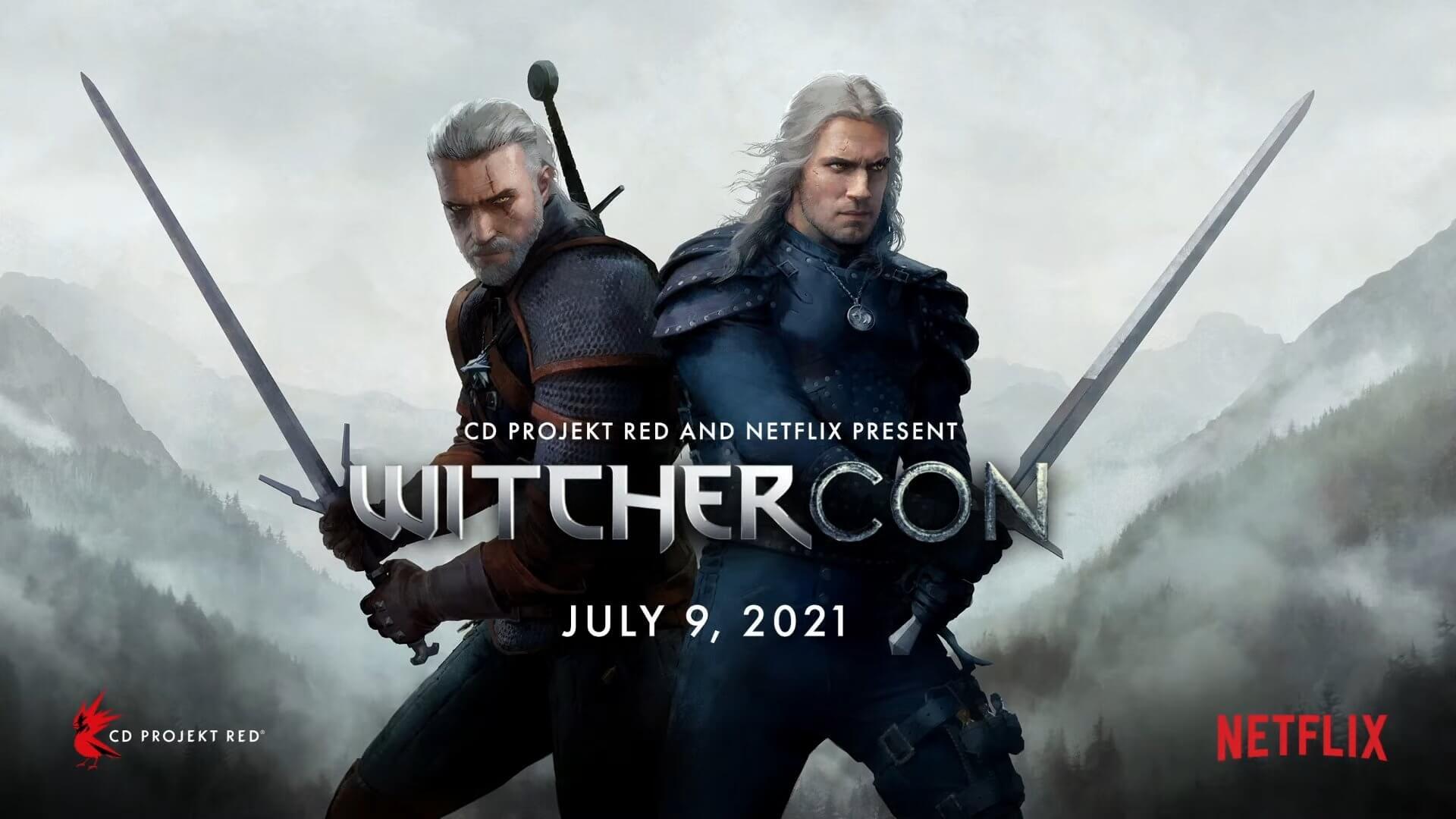 CD Projekt RED y Netflix anuncian la Witchercon, un evento de The Witcher para este 9 de julio
