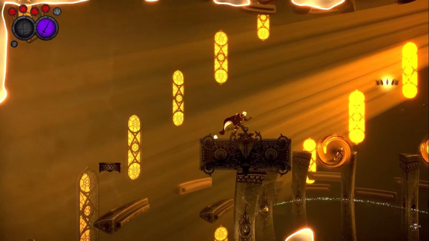 El metroidvania Aeterna Noctis muestra su gameplay en un extenso vídeo